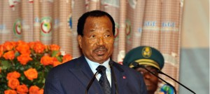 Photo Paul Biya discours sommmet ydé 2013 securité maritime
